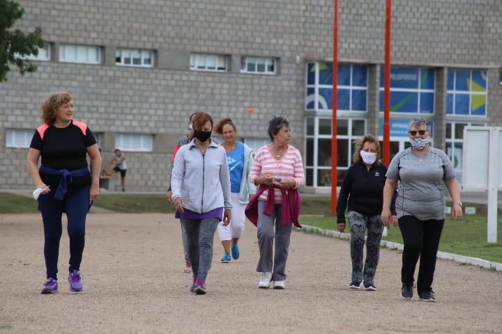 Tres Arroyos: Taller de caminatas saludables