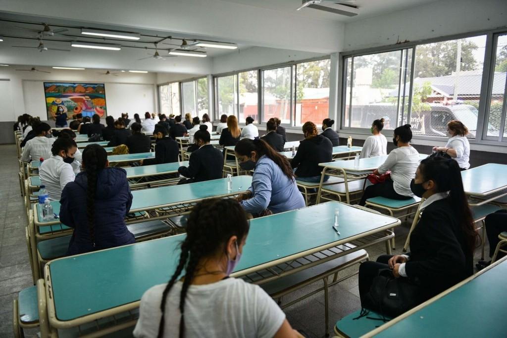 Escobar: Más de 150 jóvenes iniciaron el proceso de formación y evaluación para incorporarse a la Policía de la Provincia