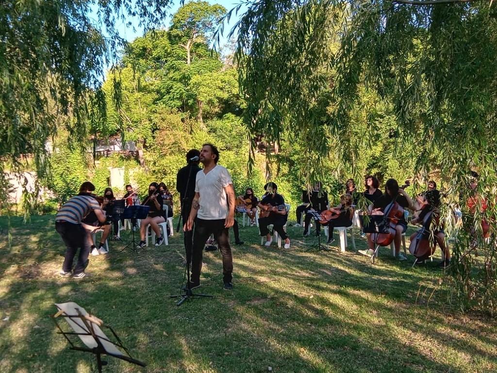 """Luján: Se estrenó el video la """"Oración del remanso"""", realizado por artistas locales"""