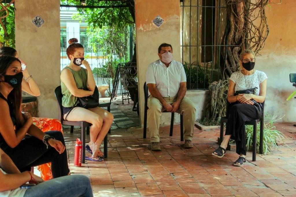 Zárate: Reunión con beneficiarios de fondos gestionados por Municipio para la reactivación turística y cultural