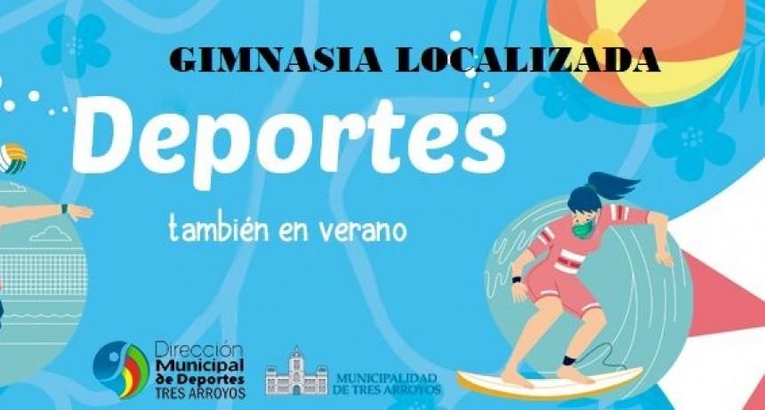 Tres Arroyos: Clases de gimnasia localizada en las localidades balnearias