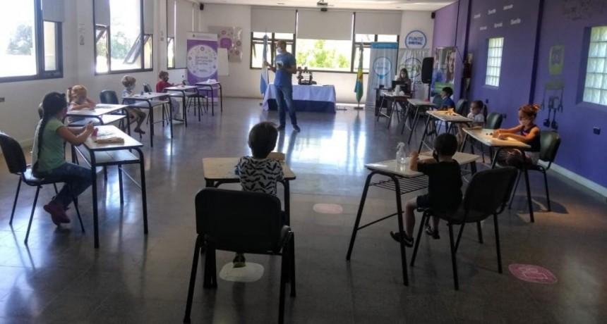 Gral. Villegas: Verano en los Puntos Digitales del distrito