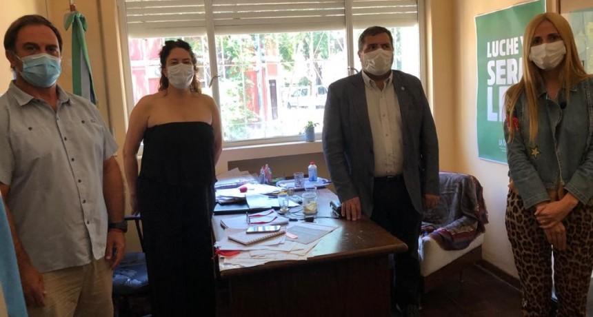 Zárate: Reunión para tratar la coordinación y logística del Plan de Vacunación entre Municipio