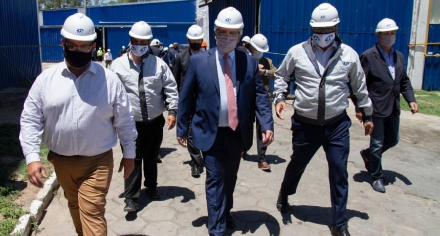 Baradero: La ciudad vivió una jornada histórica donde el intendente Sanzio recibió a Alberto Fernández