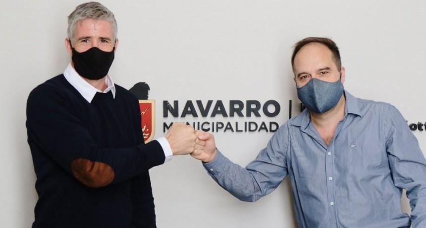 """Facundo Diz: """"Ser intendente es una tarea unipersonal. Pero si no lo puedo hacer en equipo no voy a poder cambiar ninguna realidad de Navarro"""""""
