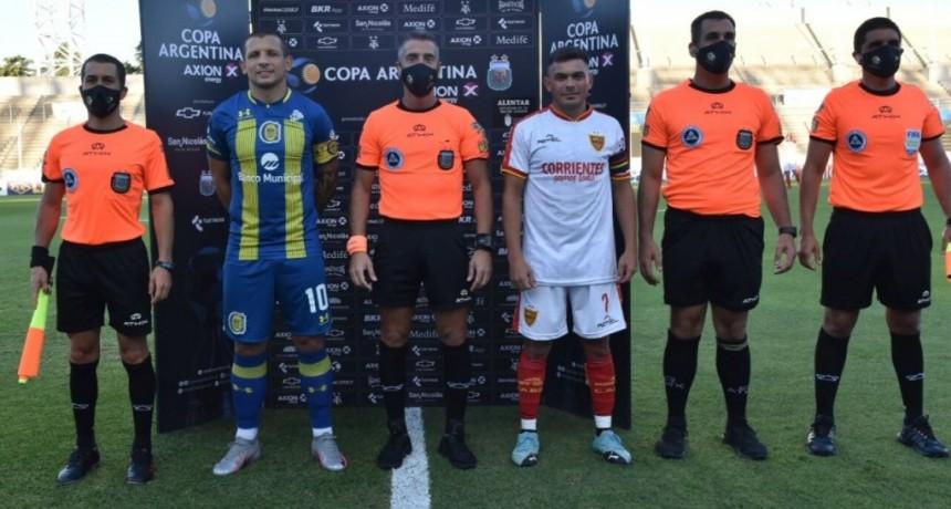San Nicolás: Nueva jornada del futbol argentino en la sede del distrito