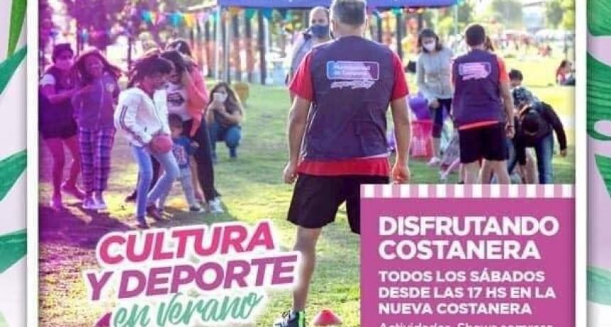 """Campana: Con nuevas actividades, llega otra jornada de """"Disfrutando la Costanera"""""""