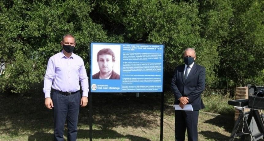"""Santoro: """"Vamos a ser fieles custodios de su memoria. No nos olvidamos de Cabezas"""""""