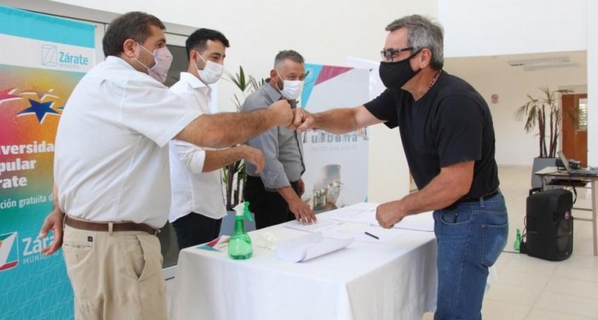 Zárate: Seis instituciones junto al Municipio, firmaron el acta compromiso para sumarse al Programa Solidaridad Urbana