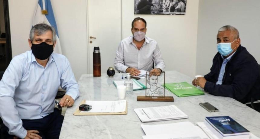 Chivilcoy: El intendente Guillermo Britos fue recibido por el secretario de Hábitat de la Nación