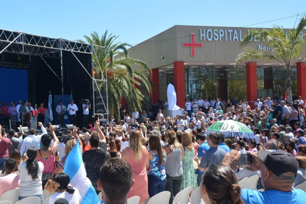 José C. Paz: Ishii inauguró el 8° Hospital Municipal con recursos propios
