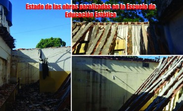 """Moreno: El """"interventor"""" del Consejo Escolar no termina obras de reparación en escuelas"""