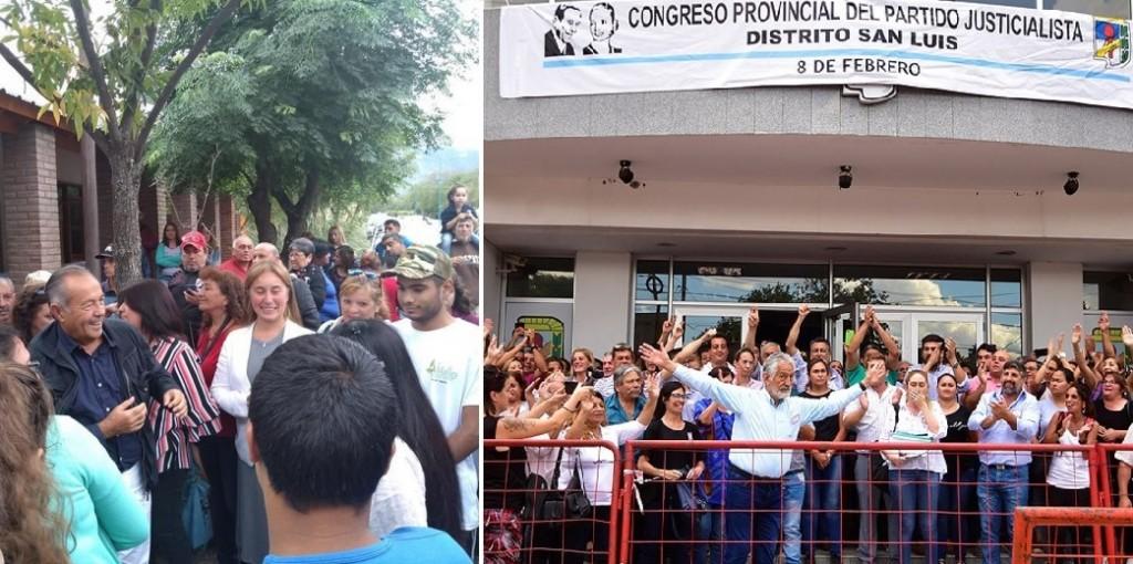 """San Luis: Alberto expulsó a los """"adolfistas"""" del PJ y Adolfo anunció que competirá en la elección general"""