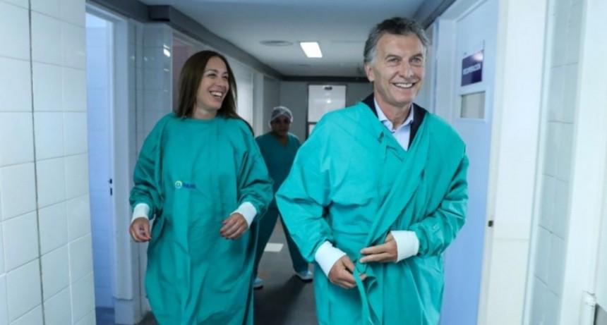 Impresentables: Llevan aparatología del hospital de E. Echeverría a Mar del Plata para que Macri se saque la foto