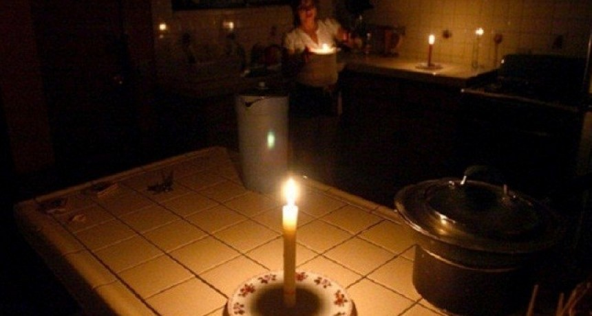 Ajuste: Los cortes de luz se incrementaron casi un 60%, pese a los aumentos