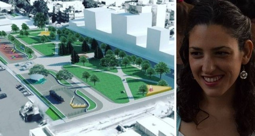 """Ana Luz Balor: """"Valenzuela gasta $26M en arreglar una plaza y destina sólo $5M a las políticas de género para el año"""""""