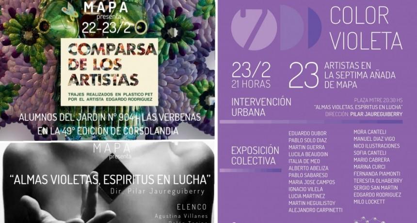 Las Flores: Mapa Espacio de Arte festeja su 7° aniversario