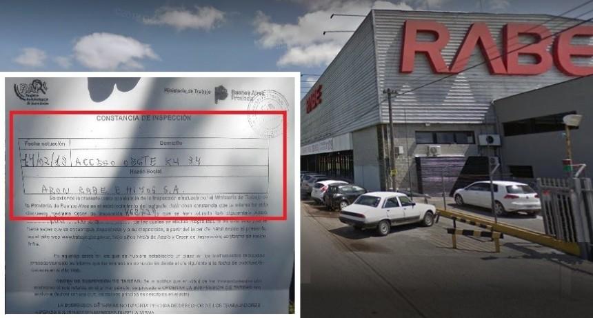 Ajuste: Rabe despidió 23 trabajadores y cerró definidamente la sucursal Moreno