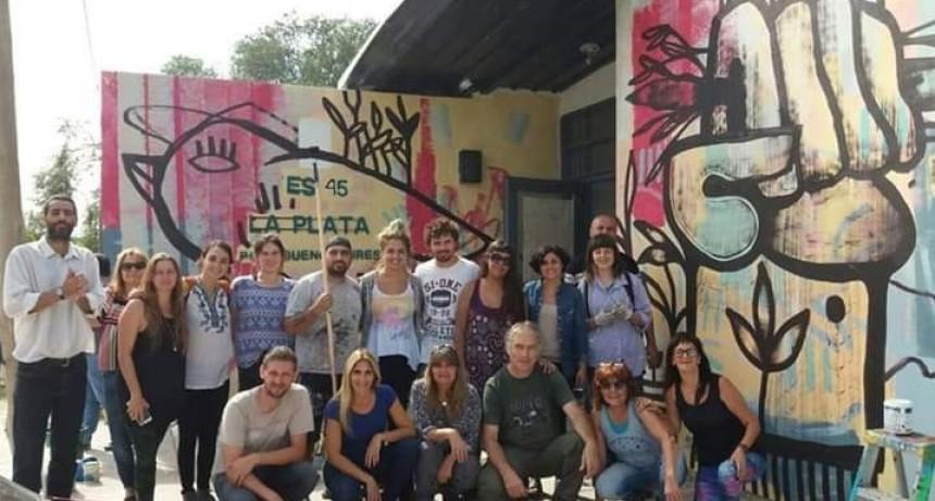"""La Plata: La comunidad educativa de la ES 45 acusa a Vidal de """"mentirosa"""""""