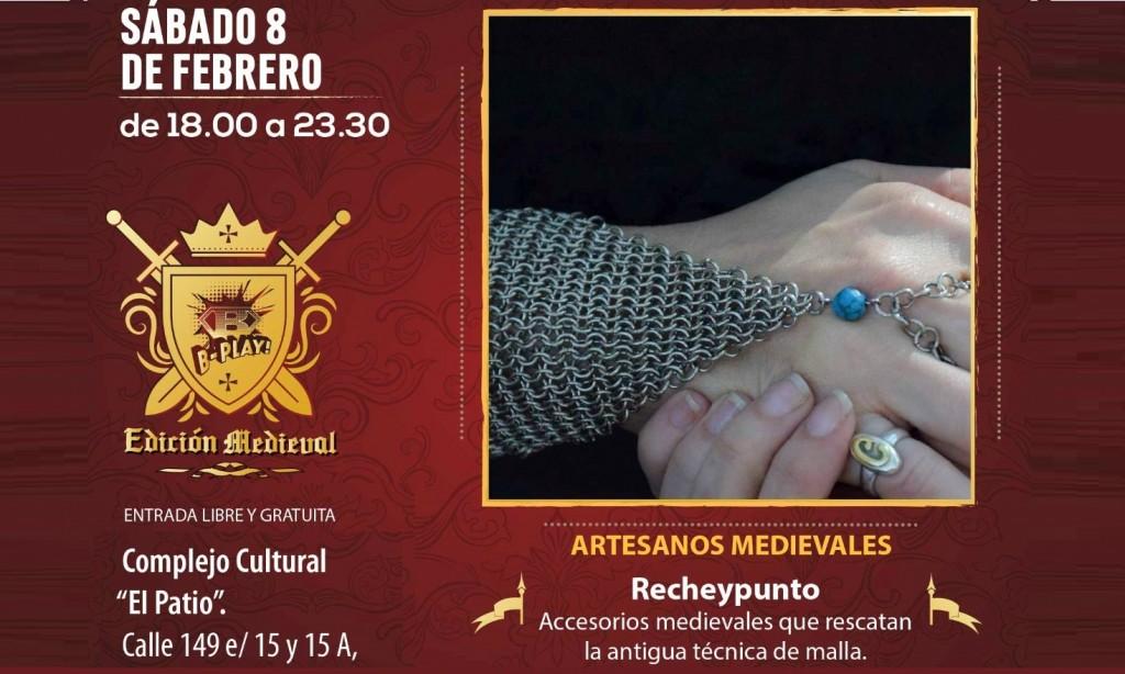 """Berazategui: Con artesanos medievales y música celta se realizará el 8 de febrero el """"B-Play"""""""