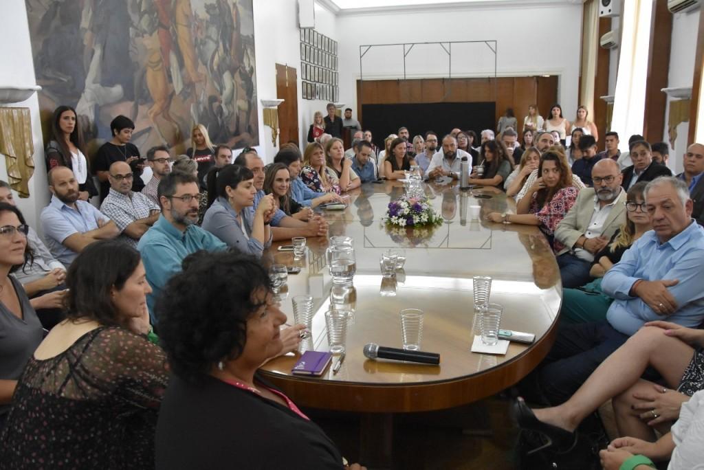 """Gabriel Barquero: """"Es muy importante contar con espacios de capacitación para terminar con la violencia de género"""""""