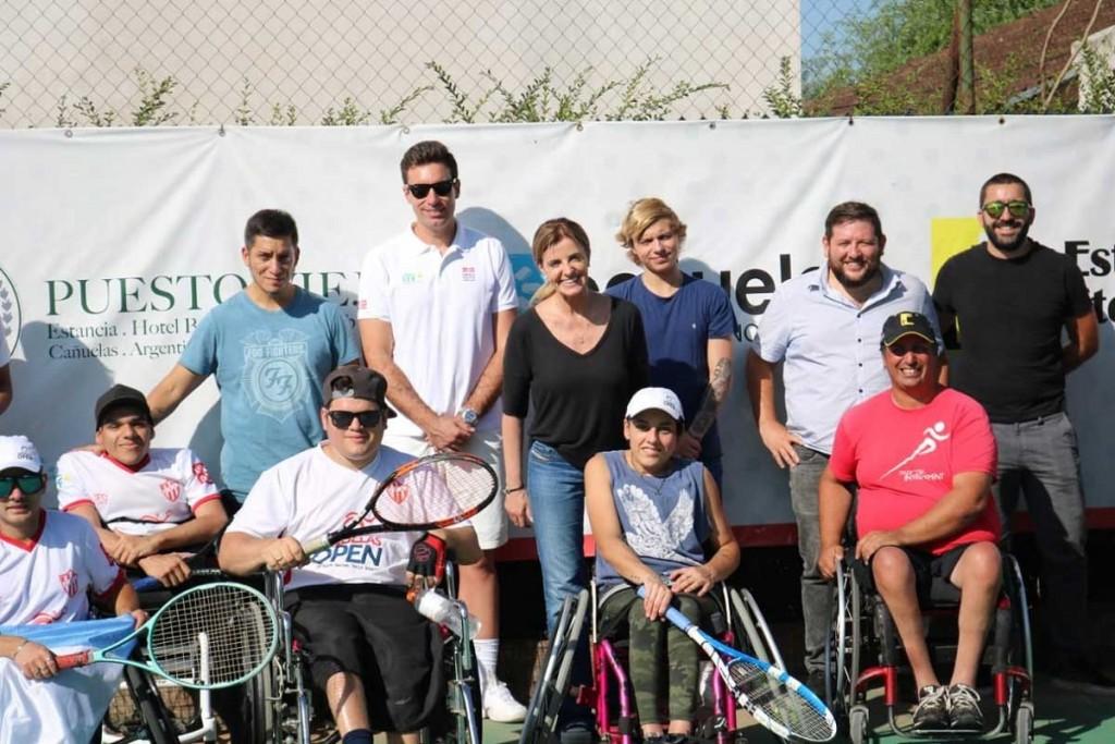 Cañuelas: Marisa Fassi se reunió con el coordinador de la Federación Internacional de Tenis (ITF)