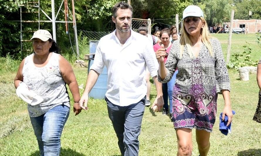 Pilar: Federico Achával visitó a feriantes del Polo Productivo de la CCC de Manuel Alberti