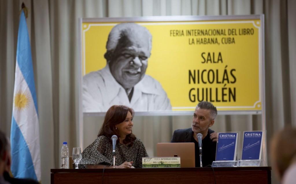 """CFK en Cuba: """"Conmigo intentaron hacer una desaparición mediática para condenarme socialmente y aislarme"""""""