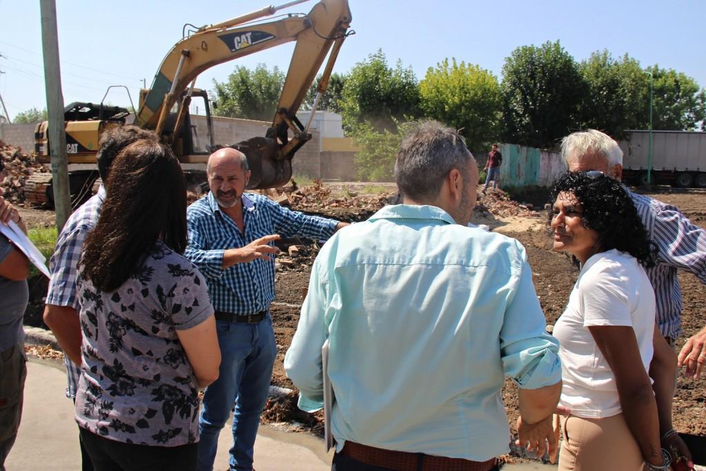 En Ensenada, Mario Secco suma más espacios públicos al distrito