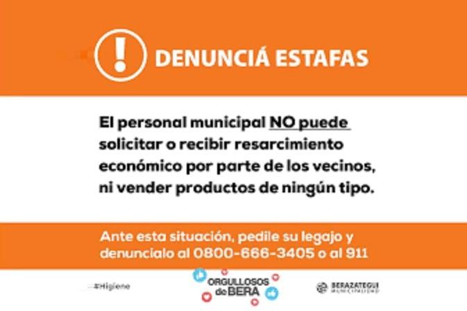 En Berazategui se detectaron falsos agentes municipales que estafan a los vecinos