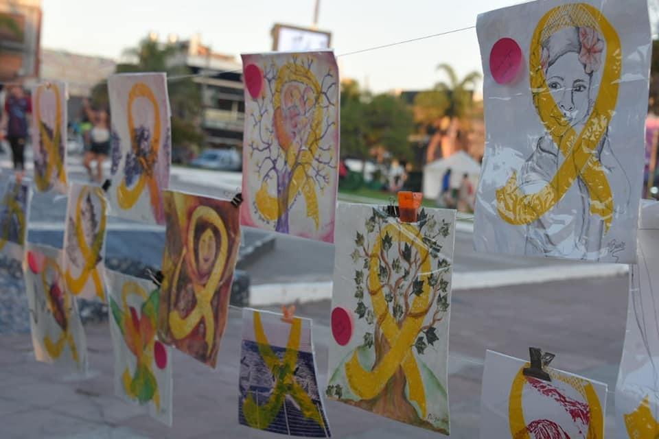 Ituzaingo: Sé realizó jornada de concientización por la lucha contra el Cáncer Infantil