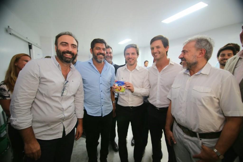 San Vicente: El ministro Costa acompañó a Mantegazza en una visita al Parque Industrial