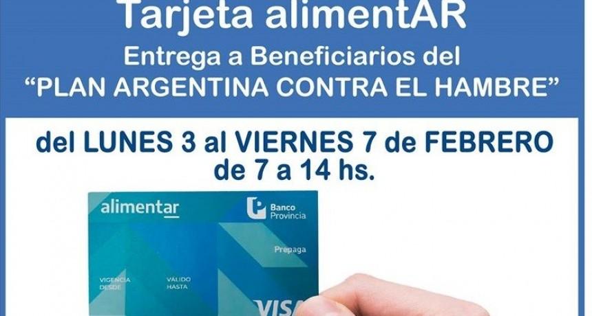 José C. Paz: Desde el lunes 3 al viernes 7 se entregan las Tarjetas AlimentAR en la sede de la UNPaz