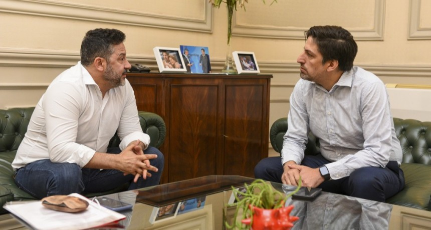 Menéndez y el Ministro nacional de Educación reactivaran las obras paralizadas en escuelas de Merlo