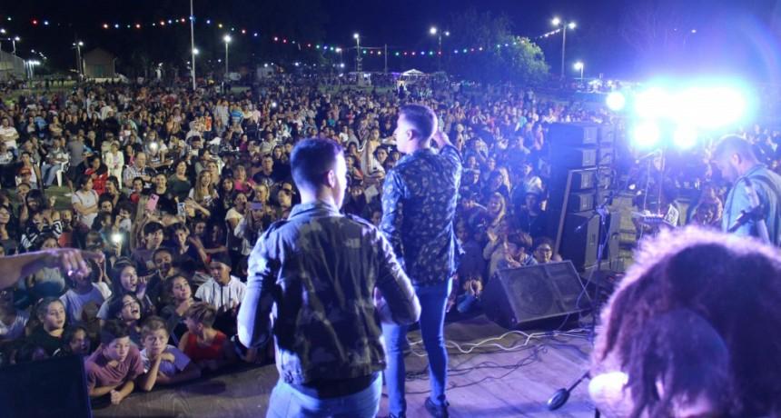 Mercedes: El centro cultural La Trocha colmado en la última noche de