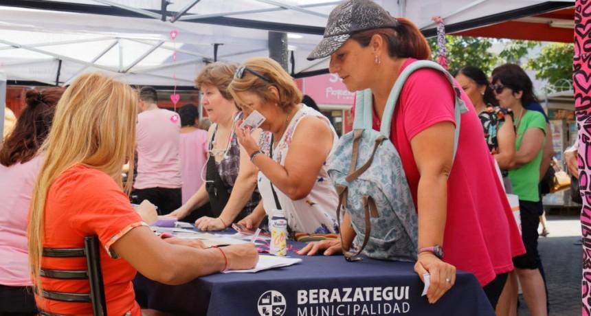Berazategui: Se desarrolló una Jornada de Concientización sobre el Cáncer