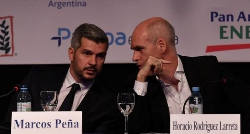 En el 1er round por el manejo del PRO, Macri y Peña noquearon a Larreta
