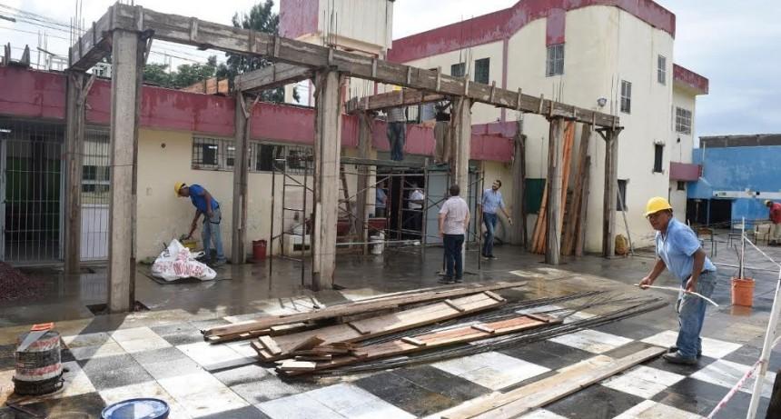 Malvinas Argentinas: Mejoras de infraestructuras en la Escuela Secundaria Nº 41