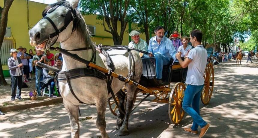 Junín: Pablo Petrecca participó de los festejos por el 118° aniversario de Agustina