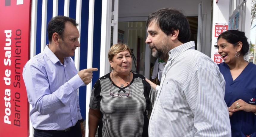 San Martín: El Municipio reabrió el Centro de Salud del Barrio Sarmiento