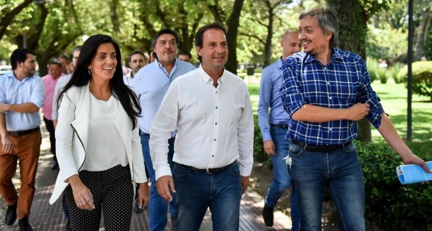 Máximo K y Volnovich recorrieron Escobar para impulsar políticas inclusivas