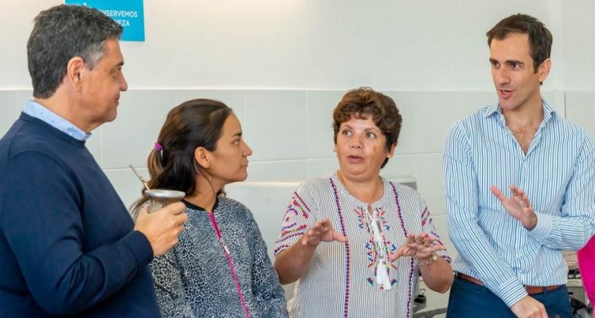 Junín: Jorge Macri en modo campaña recorrió el distrito junto al intendente Pablo Petrecca