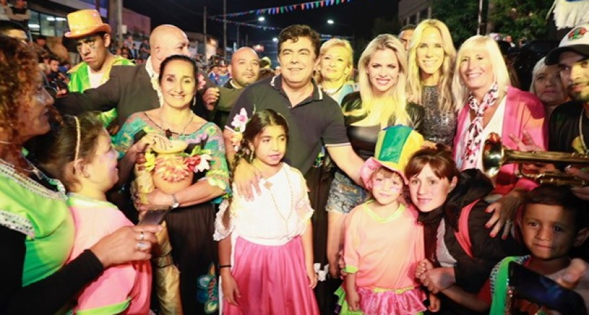 La Matanza: En la primera noche más de 80 mil personas disfrutaron el Carnaval