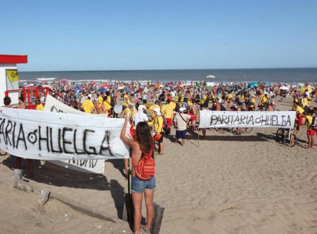 Pinamar: La Asociación de Guardavidas anunció un nuevo paro para el jueves