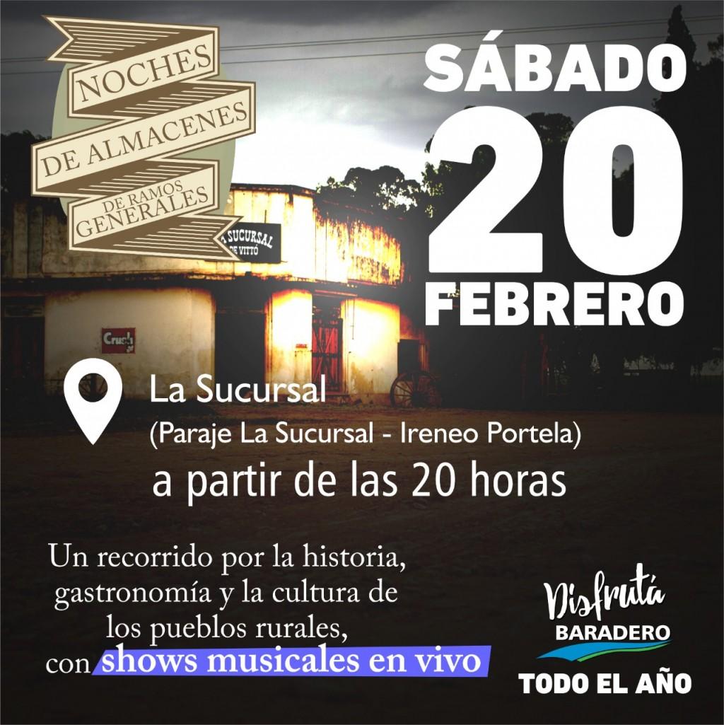 Baradero: Mercado Raíz, Noche de Percusión y Noche de Almacenes de Ramos Generales, los eventos que se vienen este fin de semana