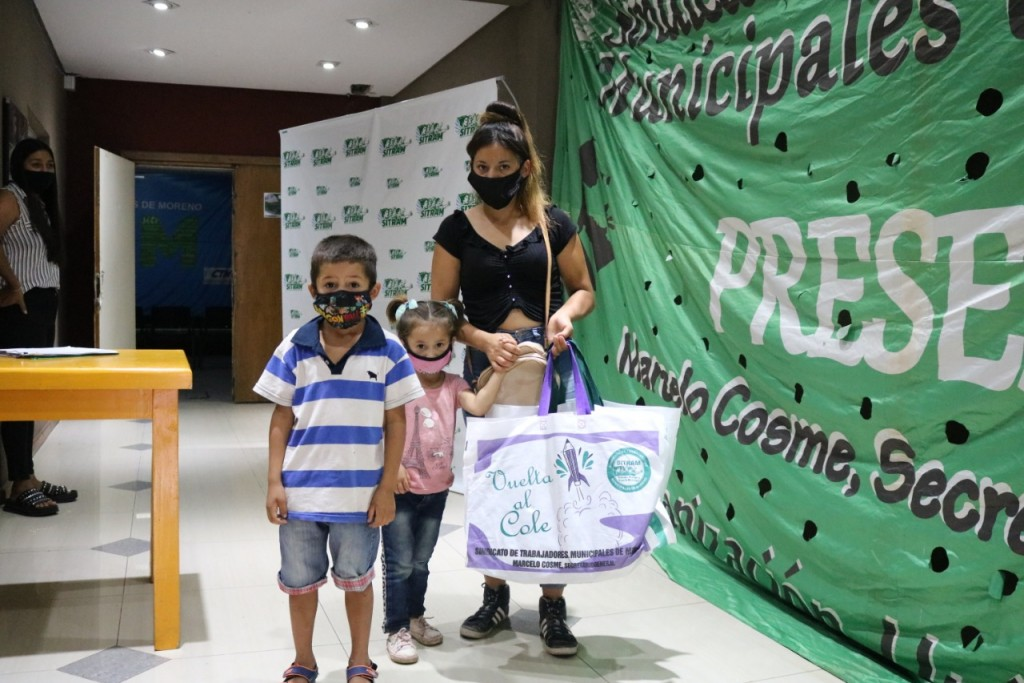 """Lorena Costa: """"En SITRAM entregaremos más de tres mil kits escolares para paliar la situación de los trabajadores municipales"""""""