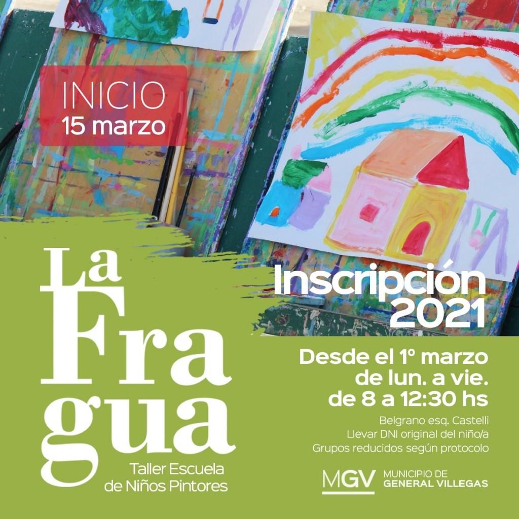 Gral. Villegas: Abierta la inscripción para La Fragua
