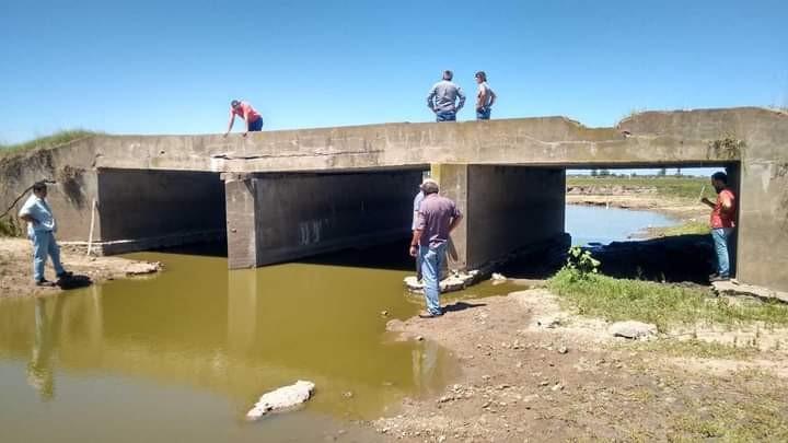 Navarro: Municipio y Vialidad trabajan en la restauración de puentes en zonas rurales