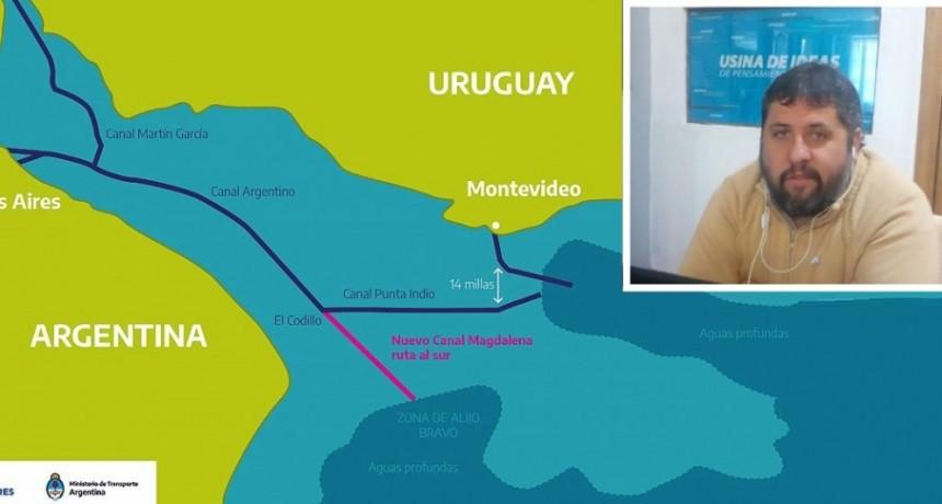 """José Luis Barreiro: """"El proyecto de la senadora Propato que impulsa la ejecución del Canal de Magdalena, representa para los bonaerenses una decisión de soberanía estratégica"""""""