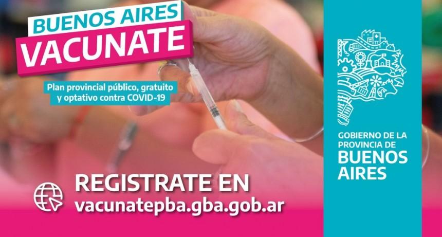 PBA: Comienza la vacunación a personas mayores de 70 años